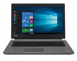 Toshiba Notebook Tecra 1TB & 16GB RAM with Windows 10 & Steel Grey color A40-C-1HE