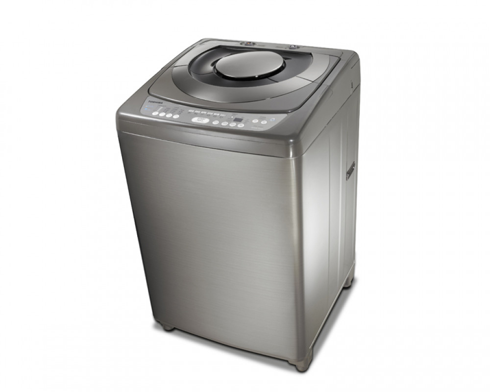 Toshiba Washing Machine 11KG Top Automatic with Pump in Dark Silver AEW-1190SUP(DS)