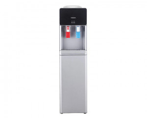 Tornado Water Dispenser Silver color with 2 Faucet for Cold and Hot water WDM-H45ASE-S