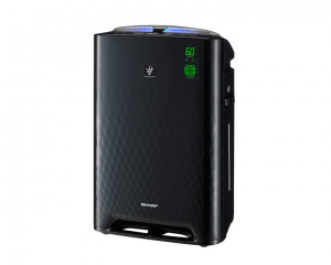 Sharp Air Purifier with Plasmacluster Area 38m2 & Black Color KC-A50SA-B
