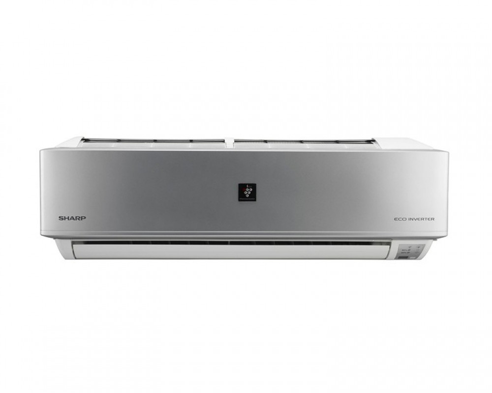 Sharp Air Conditioner 1.5 HP with Inverter Cool Split & Silver Color AH-XP13THE