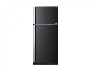 Sharp Refrigerator 642 Litre Inverter 2 Door with Plasma Cluster Black color SJ-SE75D-BK