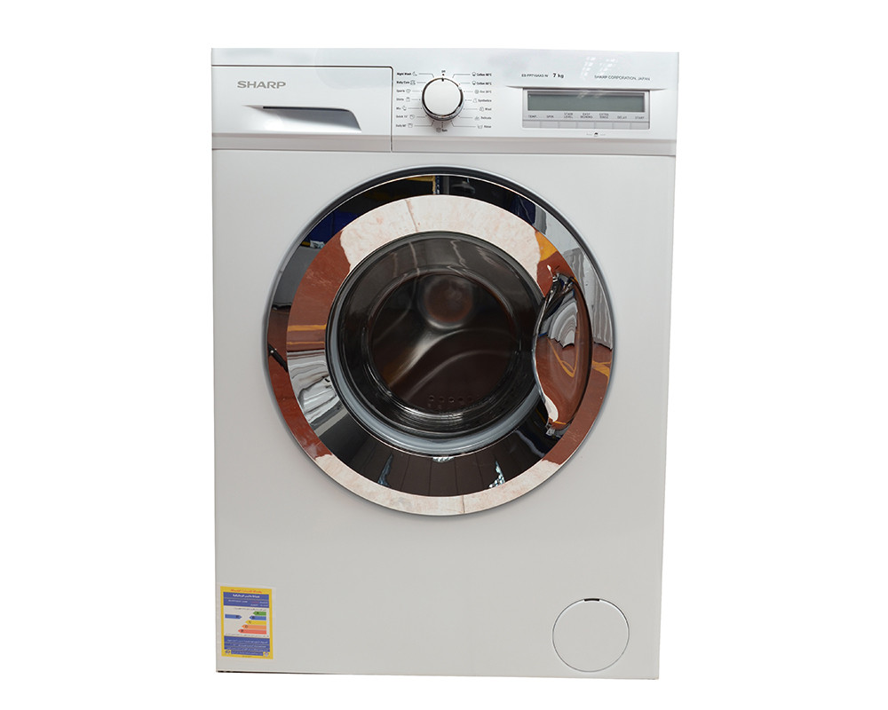 Sharp Washing Machine 7Kg Fully Automatic White ES-FP710AX3-W
