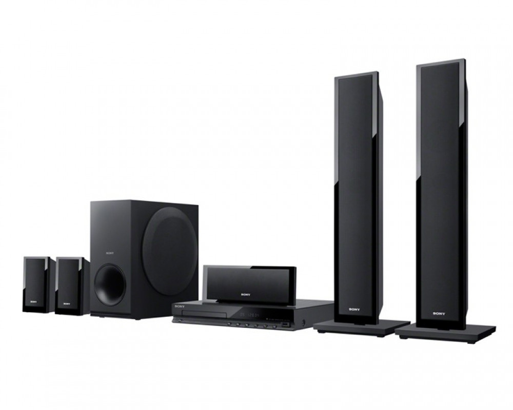 Sony Home Theater System 5.1ch with DVD DAV-TZ150