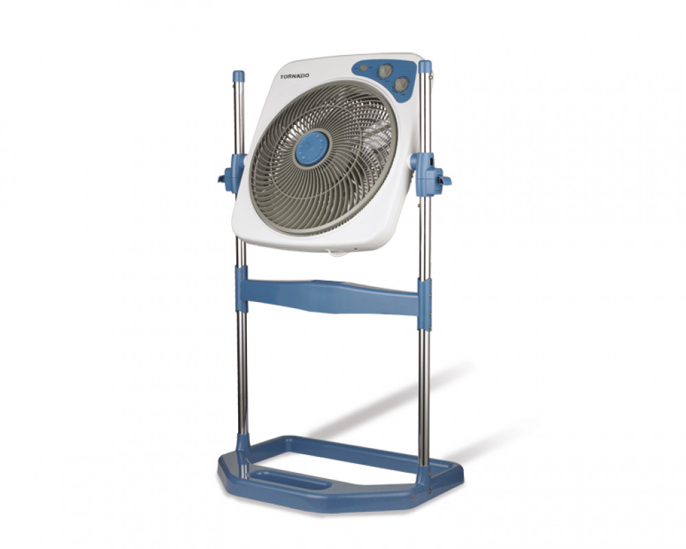 Tornado Box Stand Fan 14 inch with 4 Plastic Blades B-BXS-35
