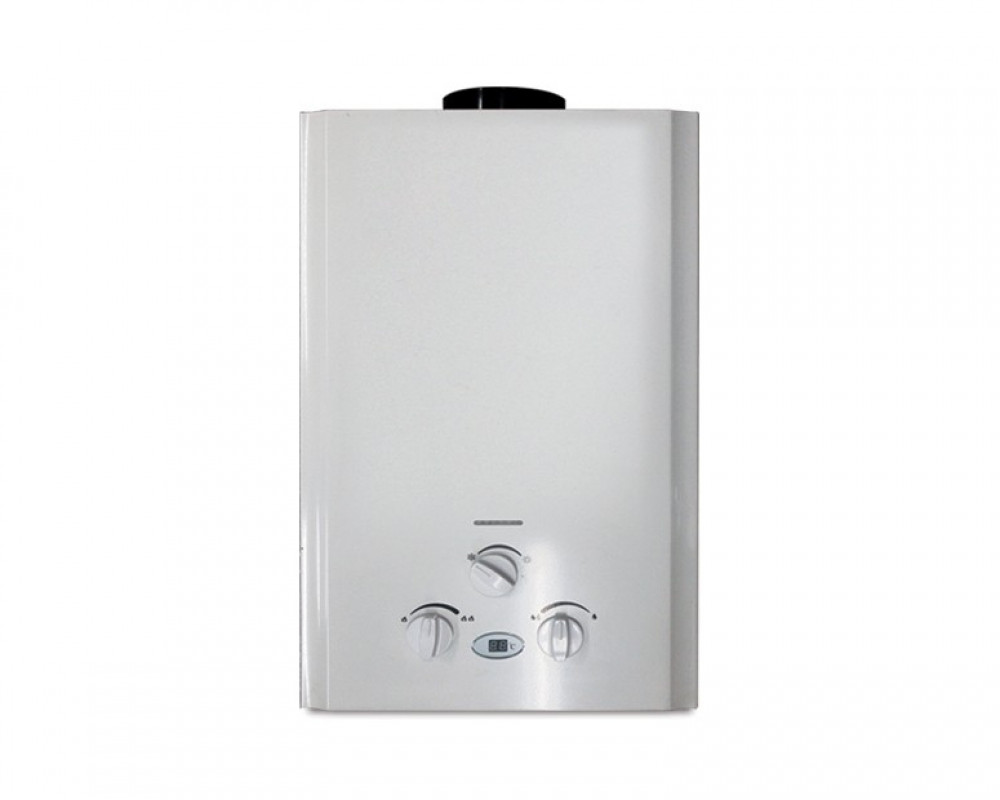 Tornado Gas Water Heater 6 Litre Digital White Color GHM-6TD