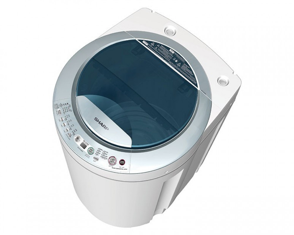 Sharp Washing Machine 10.2Kg Automatic Top Loading ES-DP102P3-G
