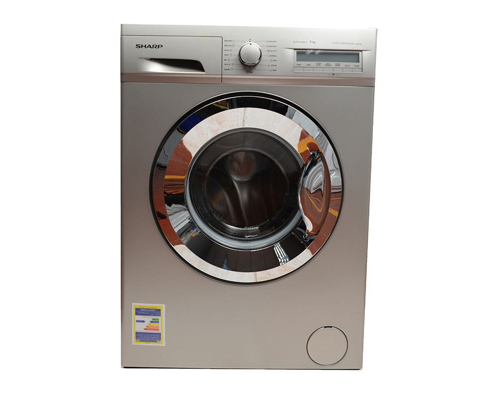 Sharp Washing Machine 7Kg Fully Automatic Silver ES-FP710AX3-S