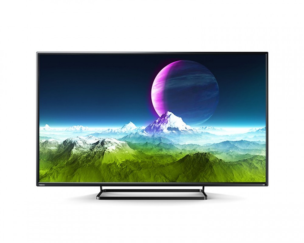 Toshiba LED TV 55 Inch Full HD with 2 USB Movie and 2 HDMI Inputs 55S2600EA