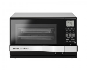 Sharp Microwave 1530 Watt 27 Litre with Grill 1150 Watt & Silver x Black Color AX-1100(SL)M