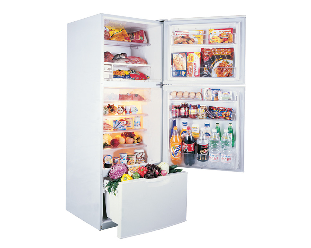 Toshiba Refrigerator 3 Door 307 Litre White Color No frost GR-EFV35-W
