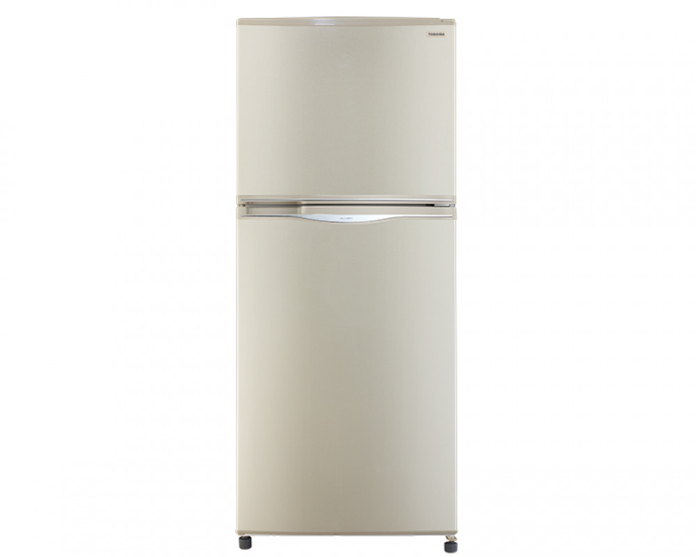 Toshiba Refrigerator 2 Door 304 Litre Gold Color No Frost GR-EF33-G