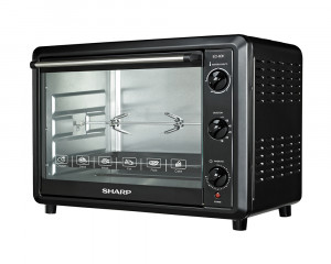Sharp Electric Oven 60 Litre 2000 Watt With Grill and Fan EO-60K-2