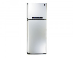 Sharp Refrigerator 450 Litre Digital 2 door White color with Plasma Cluster SJ-PC58A(W)