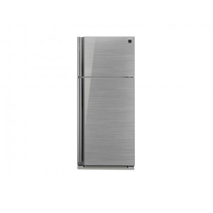 Sharp Refrigerator 642 Litre Inverter 2 Glass Silver Door with Plasma Cluster SJ-GP75D-SL
