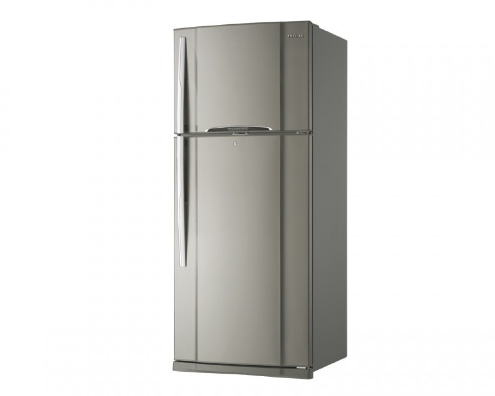 Toshiba Refrigerator 2 Door 422L Stainless Nofrost GR-R51UT-E(BS1)