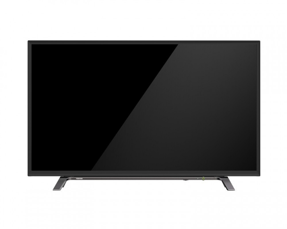 Toshiba LED 43 Inch Full HD TV with 1 USB and 2 HDMI Inputs 43L260MEA