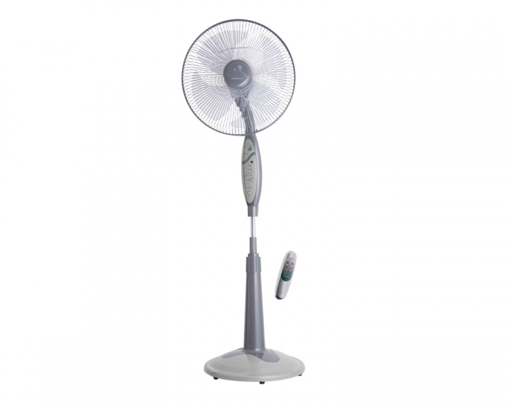 Tornado Stand Fan 16 inch with Remote Control & 4 Plastic Blades EFS-65