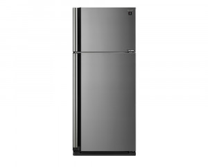 Sharp Refrigerator 599 Litre Inverter 2 Door with Plasma Cluster Silver color SJ-SE70D-SL