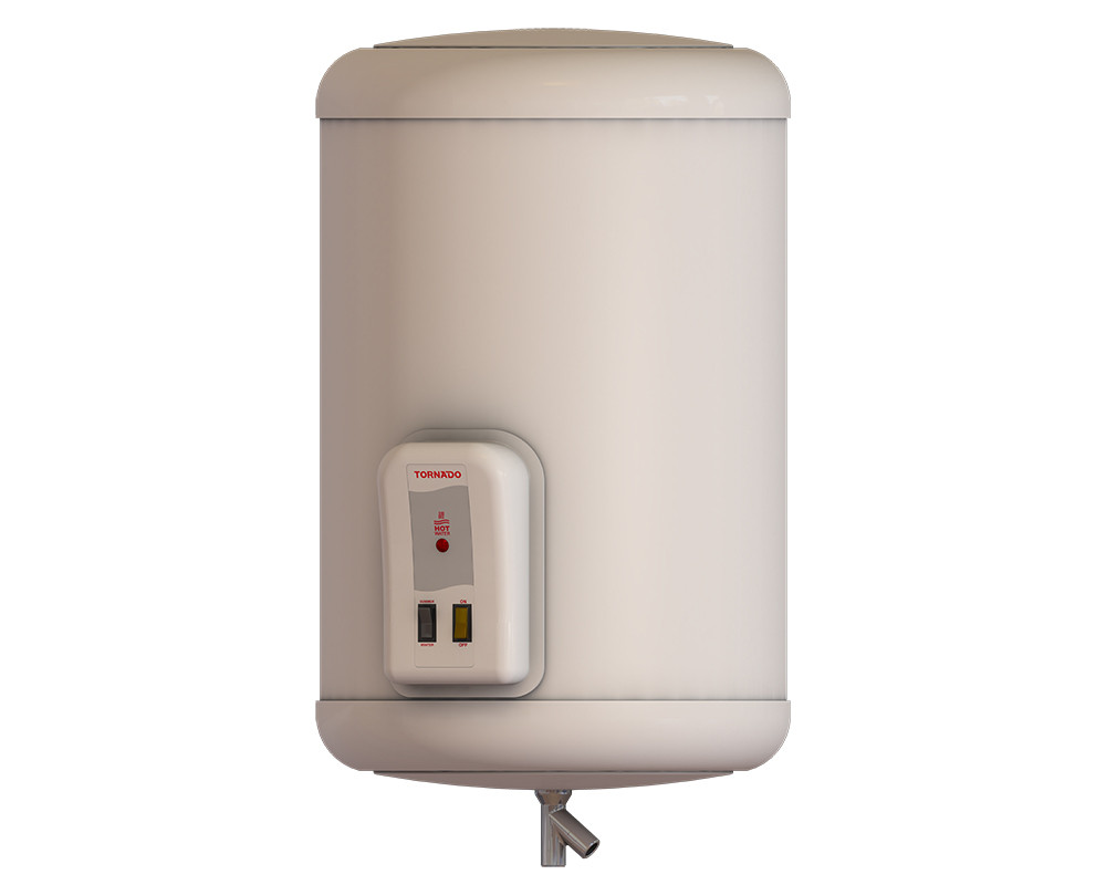 Tornado Electric Water Heater 65 Litre Off White Color EHA-65TSM-F