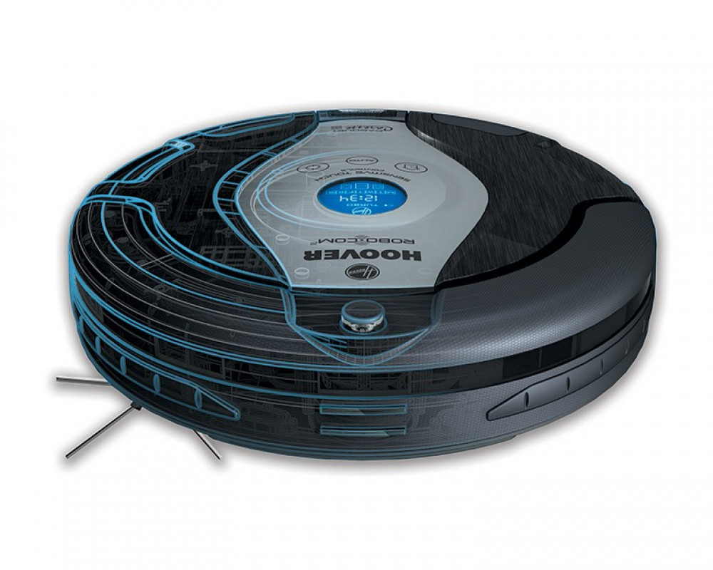 Hoover Vacuum Cleaner Black Color with Remote Control & LCD Display and HEPA Filter RBC009011