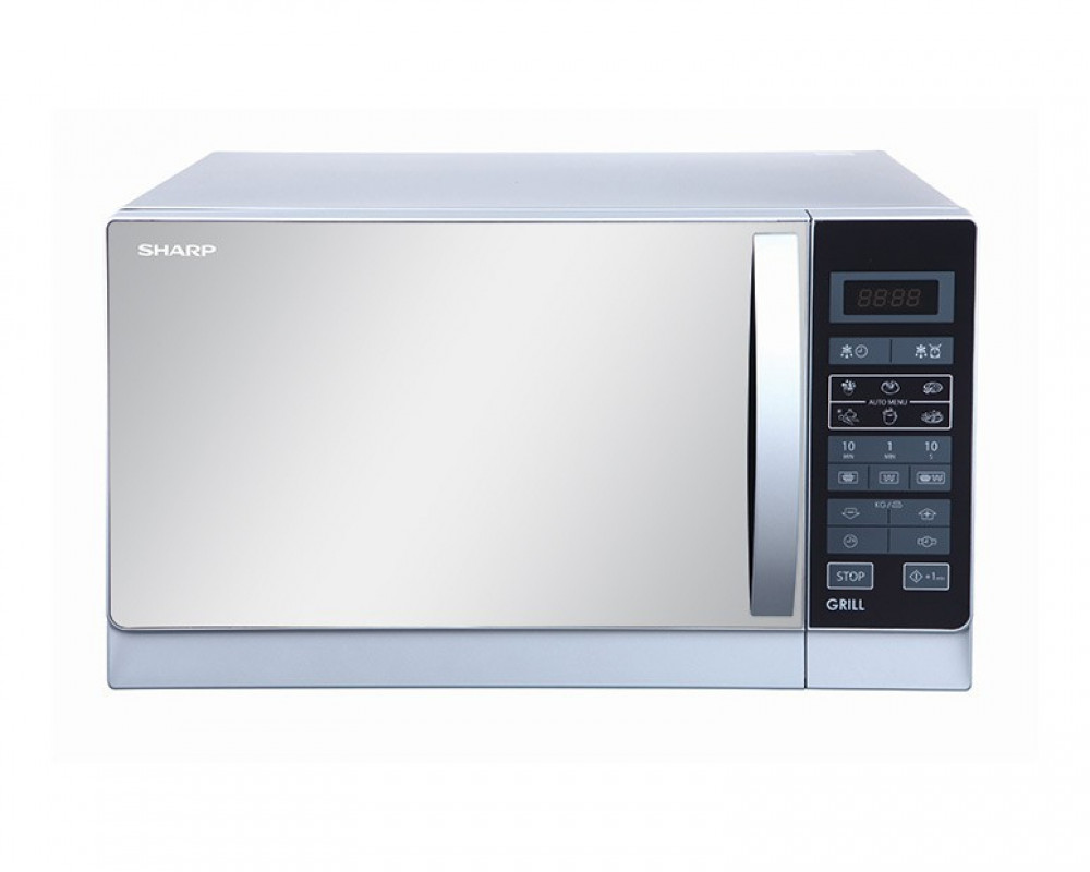 Sharp Microwave 25 Litre with Grill & White Color R-75MR(W)