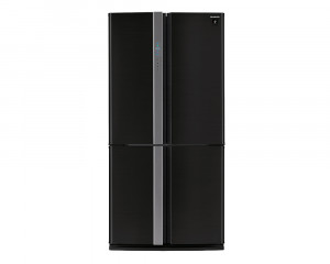 Sharp Refrigerator 4 Door 605L Stainless Black SJ-FP85V-BK