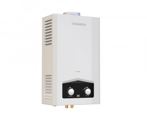 Tornado digital Gas water heater 10 Litre for liquefied petroleum gas White color GHM-C10ATE-W