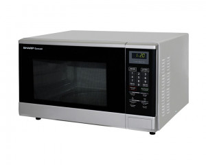 Sharp Microwave 1100 Watt 32 Litre & Silver Color R-340R(S)