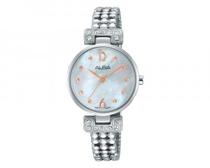 ALBA Ladies' Hand Watch Fashion Stainless Steel Band & Water Resistant AH8267X1
