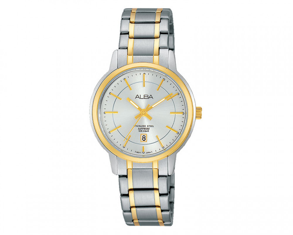 ALBA Ladies' hand watch Prestige Silver white dial and water resistant AH7G80X1
