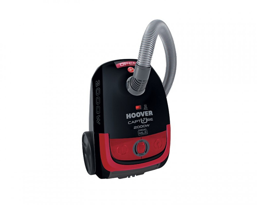 Hoover Vacuum Cleaner 2000 Watt with Carpet & Floor Nozzle and Red x Black Color TCP2010020