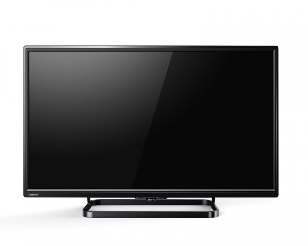 Toshiba LED TV 24 Inch HD with 1 USB and 2 HDMI Inputs 24S1600EA