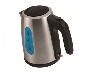 Tornado Stainless Steel Kettle 2200 Watt 1.5 Liter TKS-2215