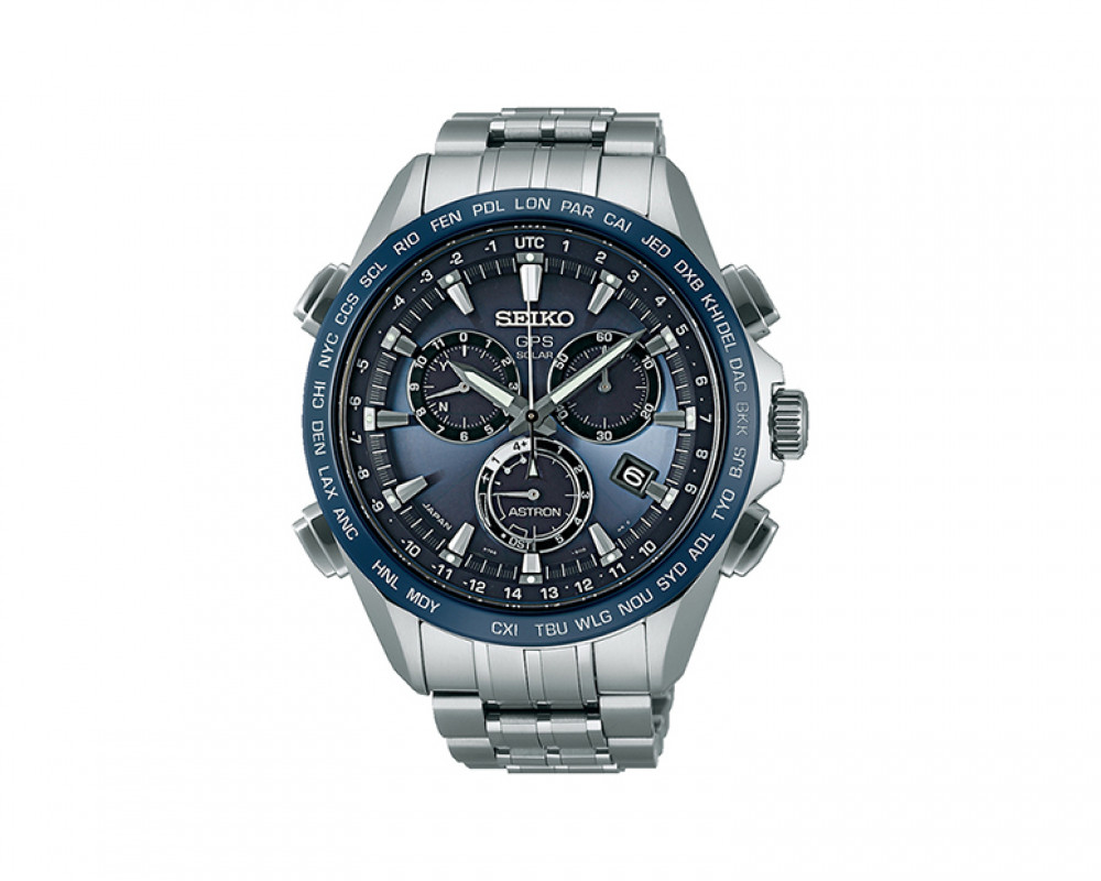 SEIKO Men's Hand Watch ASTRON with titanium band & water resistance SSE005J1