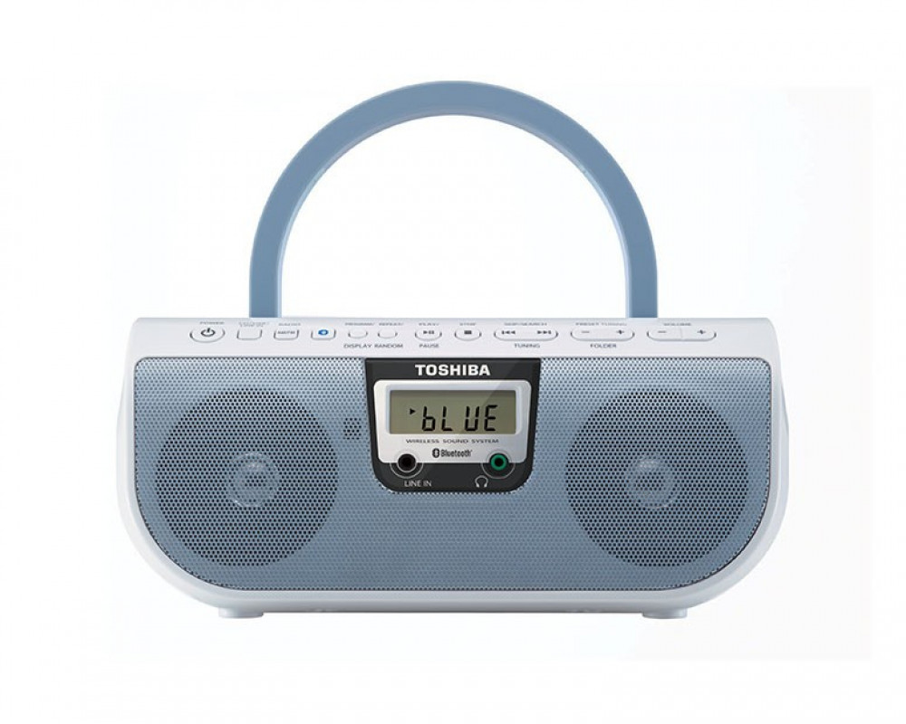 Toshiba Cassette Radio With CD Player And USB TY-CWU11