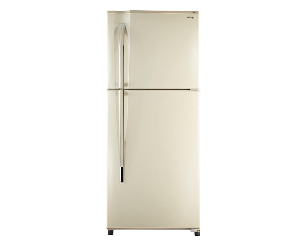Toshiba Refrigerator 335 Litre 2 Door Long Handle with Plasma & Gold color GR-EF40P-H-G