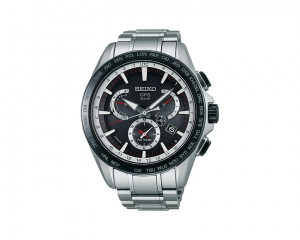 Seiko Men's Hand Watch Astron with Stainless Steel Case & Sapphire Crystal Glass SSE051J1