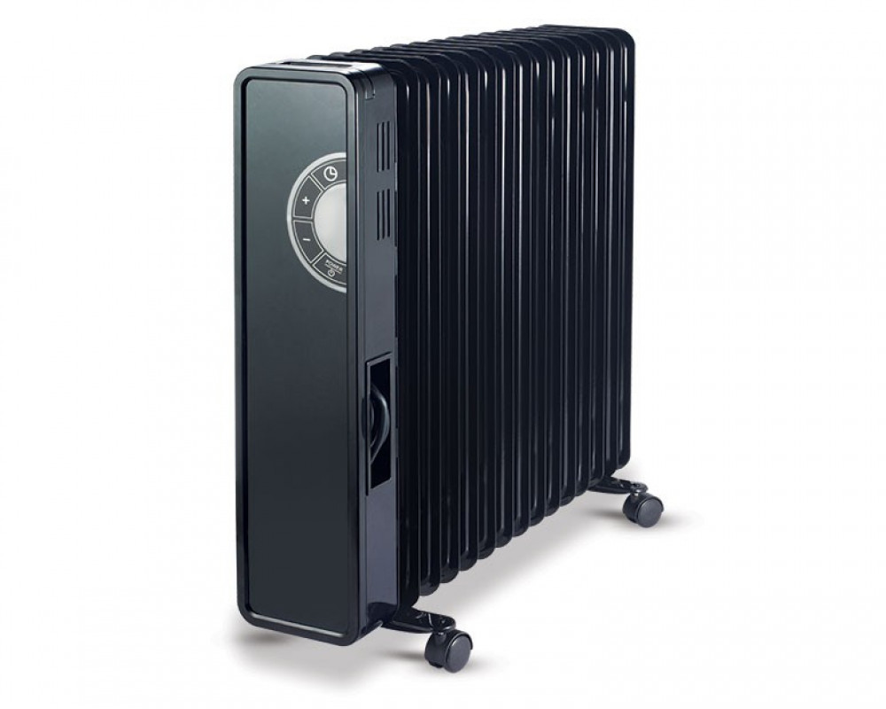 Tornado Oil Heater 15 Fins 2800 Watt With Digital Screen & 3 Heat Settings TOH-15D