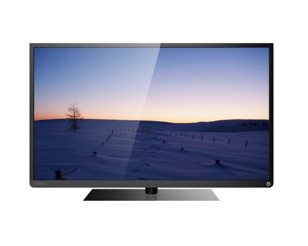 Toshiba LED TV 55 Inch Digital Full HD With USB Movie And 2 HDMI 55L2550EA