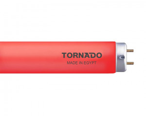 Tornado colors fluorescent lamp 120 cm & 38 watt red light FL40T9/38R(T)