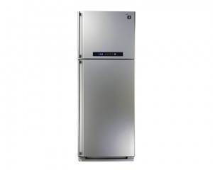 Sharp Refrigerator 384 Litre Digital 2 door Silver color with Plasma Cluster SJ-PC48A(SL)