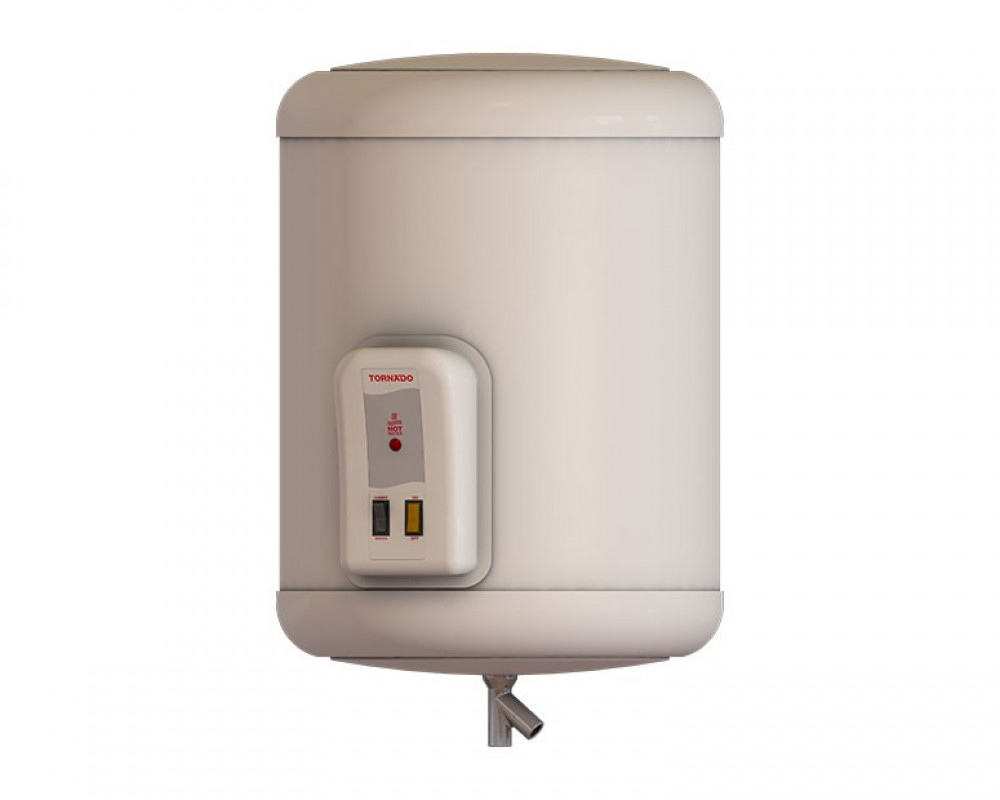 Tornado Electric Water Heater 45 litre Off White Color EHA-45TSM-F
