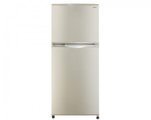 Toshiba Refrigerator 2 Door 328 Litre Gold Color No Frost GR-EF37-G