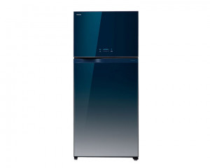 Toshiba Refrigerator 601 Litre Inverter 2 glass door in Black color GR-WG69UDZ-E(GG)
