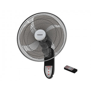 Tornado Wall Fan 18 inch with Remote Control & 4 Plastic Blades EPS-18R