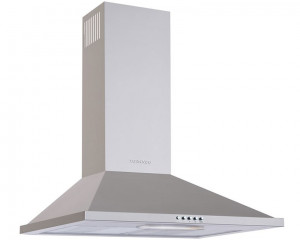 Tornado Kitchen Cooker Hood Stainless 90cm With Push button HO90PS-1