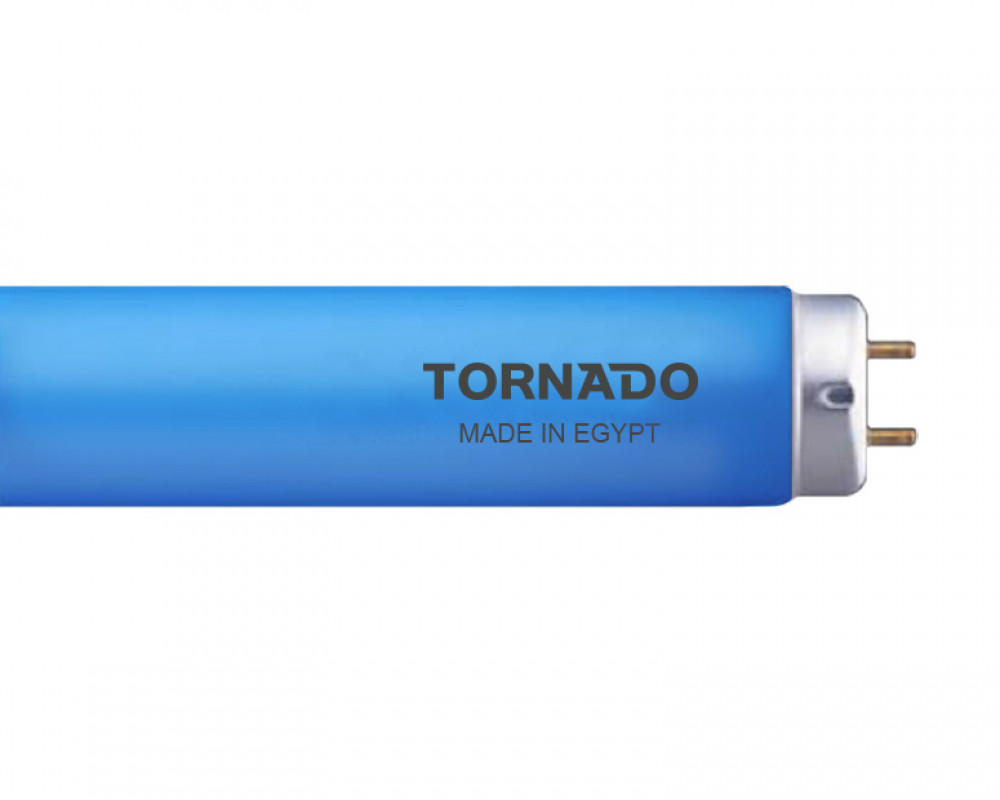Tornado colors fluorescent lamp 38 Watt Blue Light FL40T9/38B(T)