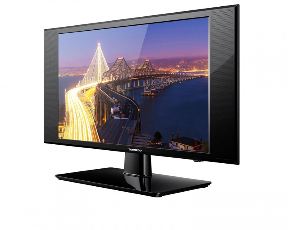 Tornado LED TV 24 Inch HD with 2 HDMI & 1 USB Inputs 24ED1360