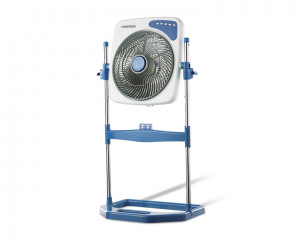 Tornado Box Stand Fan 14 inch with Remote Control & 4 Plastic Blades B-BXS-35R